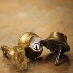 Door lock pieces