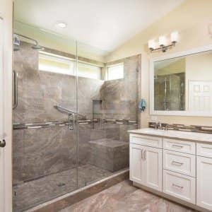 How Much Does Bathroom Tile Repair Cost Angies List - Update bathroom tile without replacing