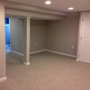 carpeting in a room