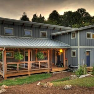 LEED-certified green houses must meet ventilation standards to reduce indoor pollutants. (Photo courtesy of the USGBC)