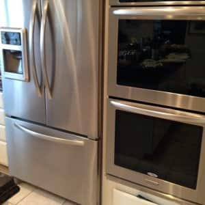 pricing out the repair work for your kitchen appliances