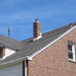 Factors such as the steepness or pitch of a roof can directly affect the price of a new roof. (Photo courtesy of Angie's List member Stephen K. of Secane, Pennsylvania)