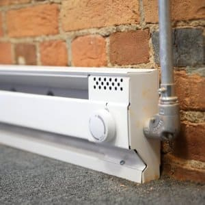baseboard heating unit