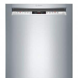 front of Bosch 800 Series dishwasher SHE68T55UC