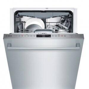 Bosch SHX68T55UC stainless steel dishwasher