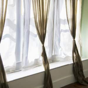 window, curtains, window treatment