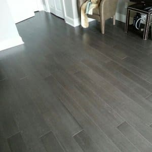 bamboo flooring in a room