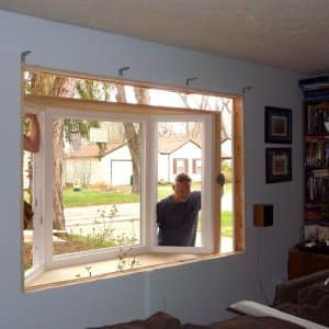 bay window, window installation, contractor