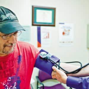 Blood preassure check