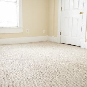 carpet in an empty room