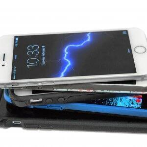 smart phones stacked up