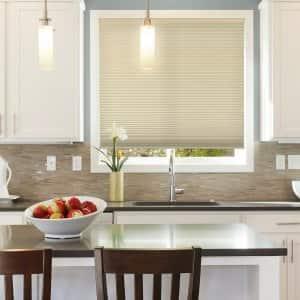 cellular shades window treatment
