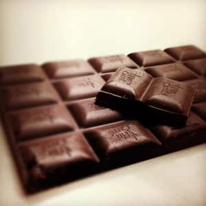 homemade chocolate bar
