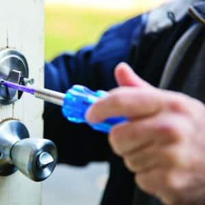 deadbolt lock install