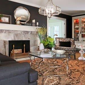 living room interior design (Photo by Frank Espich)