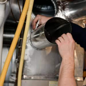 Duct workers