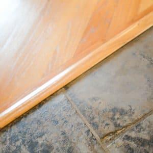 tile and hardwood flooring