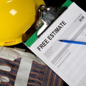 free estimate hidden costs clipboard