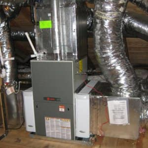 If you installed a new high-efficiency furnace or other energy-efficiency equipment, ask the company if you qualify for any tax credits. (Photo courtesy of Angie's List member Holly D. of Memphis, Tenn.)