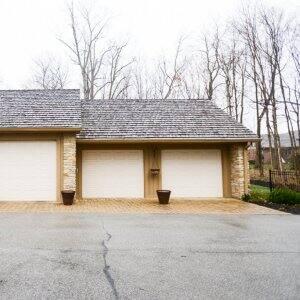 garage door, four-car-garage door