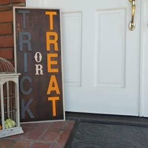 DIY Halloween decoration