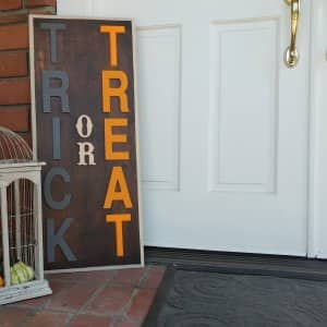 DIY Halloween decoration