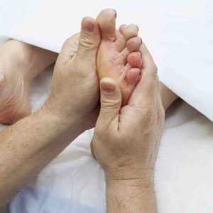 Foot rub