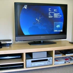television on stand