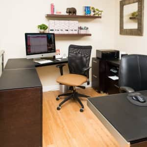 Adding an office to your house may affect your homeowners insurance. (Photo by Sara Cozolino)
