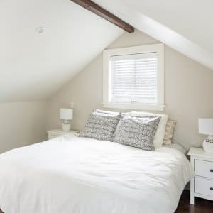 master suite on top floor in new home addition