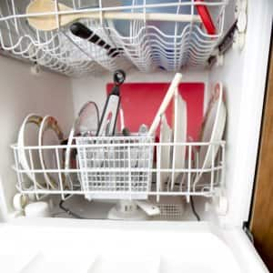 If your dishwasher has never been cleaned or it has a lot of lime buildup, you need to do a deep cleaning. (Photo by Eldon Lindsay)