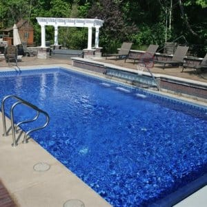 Taking proper precautions as winter approaches ensures your pool will remain in sparkling good condition next spring. (Photo courtesy of Angie's List member Kevin S. of Indianapolis)