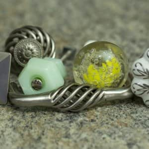 kitchen cabinet knobs and pulls (Photo by Eldon Lindsay)