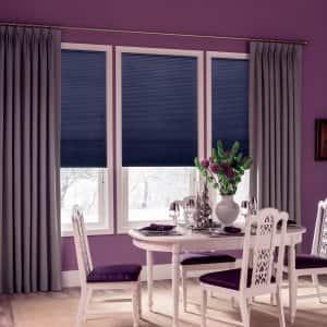 layered window treatments