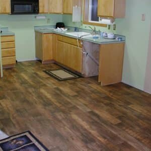 Linoleum Flooring In Kitchen