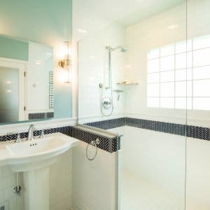 bathroom renovation with classic style
