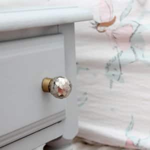 chalky finish paint on nightstand