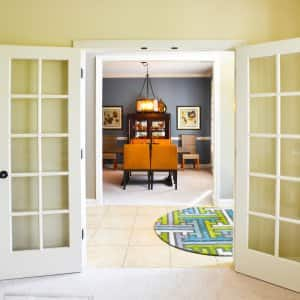 open french doors