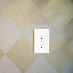 outlet on wall