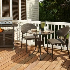End of summer sales are a great time to purchase new outdoor furniture or a grill for your porch, patio or deck. (Photo by The Outdoor GreatRoom Company)