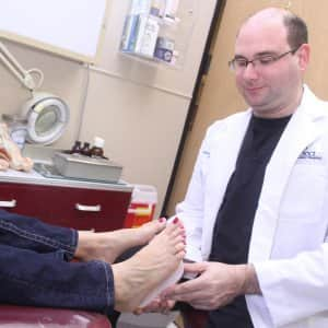 orthotics examination