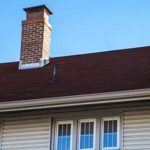asphalt shingle on house