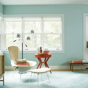 Superb Room Painted Wythe Blue