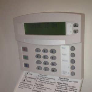 Alarm pad