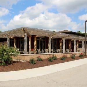 senior living community building