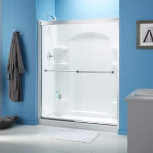 How to clean glass shower doors angies list sliding shower doors planetlyrics Choice Image