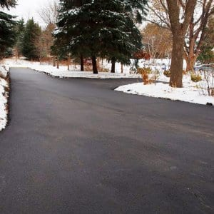 Are heated driveways worth the cost angies list cleared driveway with snow solutioingenieria Choice Image