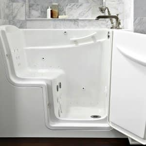 Walk In Bathtub With Door Open