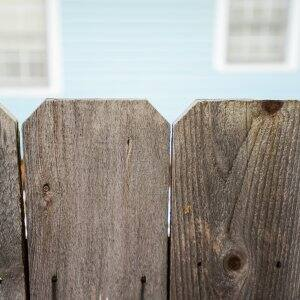 Regardless of if you are painting or staining your fence, the most important step is to clean with a pressure washer first. (Photo by Summer Galyan)