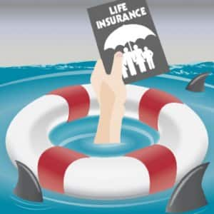 illustration of life insurance policy